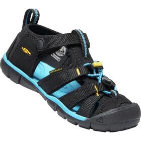 Keen Seacamp II CNX Sandals Kids black/keen yellow